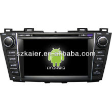 Android System car dvd player for Mazda5 with GPS,Bluetooth,3G,ipod,Games,Dual Zone,Steering Wheel Control