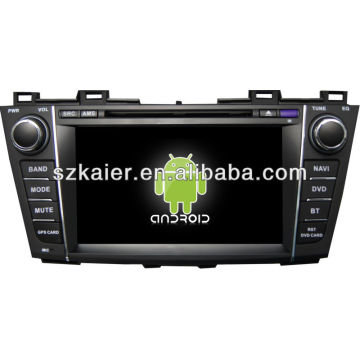 Android System Auto DVD-Player für Mazda5 mit GPS, Bluetooth, 3G, iPod, Spiele, Dual Zone, Lenkradsteuerung