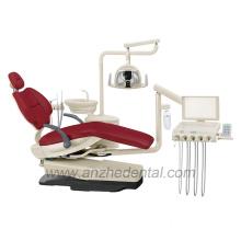 Factory dental unit with LED sensor light
