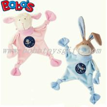 23см розовый Плюшевый Плюшевые игрушки Детский утешитель фаршированные Blue Кролик Bunny Baby Doudou