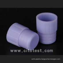 Plastic Test Tube Stoppers & Caps (4070-2016-09)