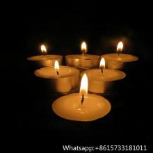 50pcs Plastiktüte Paket Unscented White Tealight Candle