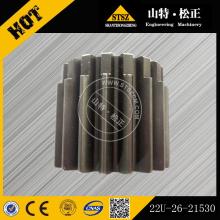 Komatsu D65E-8 Gear 144-21-52460 144-14-54220