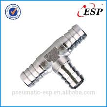 Raccord de tuyauterie pneumatique PTB type T