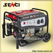 Venda quente para uso doméstico Conjunto de geração de gasolina SC8000-I