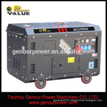 Power Value 380V 10kw silent electric generators