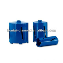 New construction diamond dry core bits