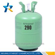 Cylindre jetable gaz réfrigérant propane r290 à vendre