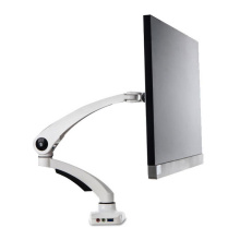 75*75mm 100*100mm LCD Monitor Stand Rotation Lifting Bracket with USB Audio