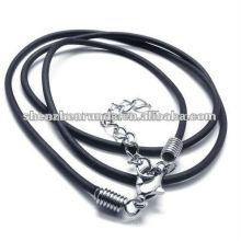 Collar del caucho del silicón de la joyería del collar del silicio de la manera 2013