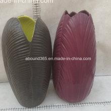Jarrón de ceramica