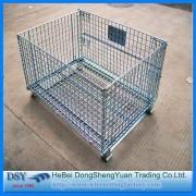 Kaynaklı Galvanizli Metal Depolama Kafesleri