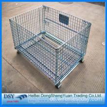 China zusammenklappbare Metall Lagerung Käfig, PVC-beschichtete ...