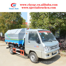 FOTON small hook lift bin truck for sale