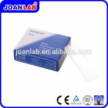 Joan Lab 7105 Diapositives à microscope 45 Arêtes biseautées en coin Diapositives en verre
