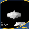 2015 neues modernes Design 4,5 Zoll Porzellan weißer Zuckerhalter für Hotel