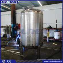 Réservoir lumineux de stockage de bière de l'acier inoxydable 7BBL 10BBL de KUNBO avec la veste