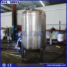 Tanque brilhante do armazenamento de aço inoxidável da cerveja de KUNBO 7BBL 10BBL com revestimento