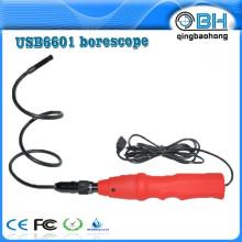 Alta Qualidade 8mm USB Polícia Boroscópio Videoscope