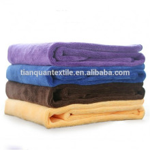 Microfiber towels about 400gsm material 80/20 polyester
