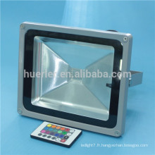 Haute puissance AC100-240v led rgb lumière extérieure 30w projecteur led
