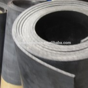 Industrial rubber sheet without ply to be used as bases