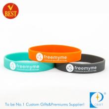 2016 Wholesale Promotional Eco-Friendly Silicone Bracelets (KD-0006)