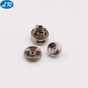 CNC turning machined steel e-cigarette atomizer accessories