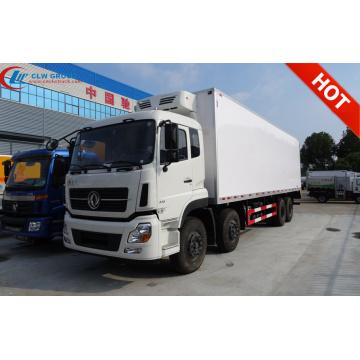 Caminhão de furgão refrigerado da Dongfeng 55m³