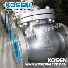 Válvula de retenção de balanço aço fundido (H44)
