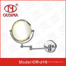 Wall Mounted Bathroom Makeup Mirror with LED Light