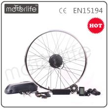 MOTORLIFE / OEM marque 2015 CE ROHS passer 350w e kit de conversion de vélo