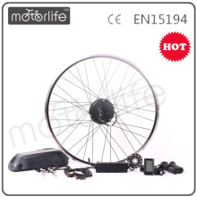 MOTORLIFE / OEM marca 2015 CE ROHS passar 350w e kit de conversão de bicicleta