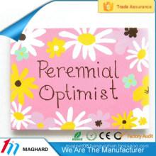 high quality flower iron tin metal fridge magnet tourist souvenirs