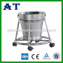 YA-KB1 Stainless steel medical waste trolleys&kick bucket