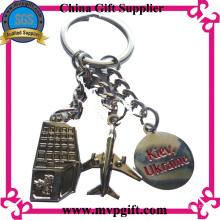 Porte-clés personnalisée pour cadeau promotionnel