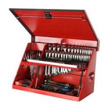 Supports de levage à gaz pour boîtes à outils
