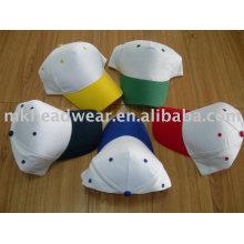 5 paneles simples Gorras promocionales de béisbol