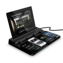 4 Ports USB Fast Ladestation AC100-240V Ladegerät für Handy und Tablet PC