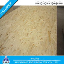 Tablero impermeable OSB 3 Formulario Luli Group