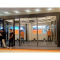 Automatic Sliding Doors with Activation and Safety Sensors