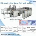 automatic mask blank machine with ear-loop welding machine