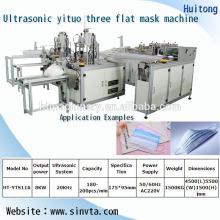 máquina de máscara automática em branco com máquina de solda com alça