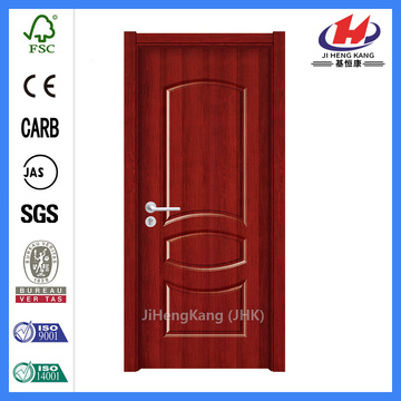 * JHK-MD12 Interior House Doors Painel de melamina Portas de interior Contemporary Doors Skin