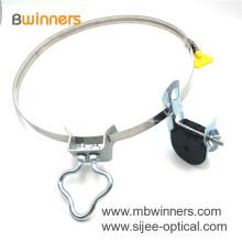 Электрическая клемма тупика ADSS J-крюк Зажим для подвески