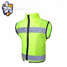 Customized supplier reflective vest bike motorcycle clothing high visibility jacket