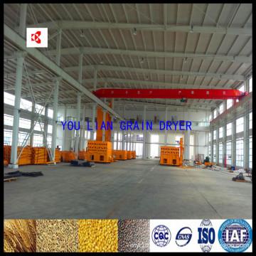 Machines de séchage de blé en lots de re-circulation