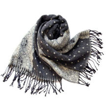 Scarf, Made of 100% Acrylic, Soft Texture, Customized Designs are Accepted, Weighs 225g