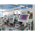similar tajima 2 Heads Computer Embroidery Machine for bordadora big lun pictures cap embroidery jackets jeans curtain