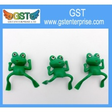 Plastic Frog Finger Puppets 2.5 inches